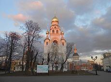 Храм-колокольня Воскресения Христова на Рогожском. Рогожский поселок
