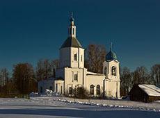 Храм Владимирской Пресвятой Богородицы. Осташово