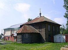 Храм Спаса-Преображения. Куровское