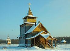 Храм преподобного Сергия Радонежского. Павлово-на-Неве