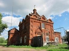 Храм Казанской Пресвятой Богородицы. Приволжск