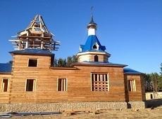 Старообрядческий храм. Усть-Баргузин