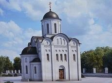 Храм святых апостолов Петра и Павла. Краснокаменка