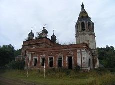 Храм святителя Николы Чудотворца. Исады