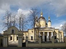Храм Введения Пресвятой Богородицы у Салтыкова моста. Самокатная ул.