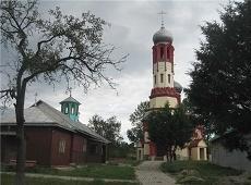 Храм преподобного Сергия Радонежского. Климоуцы