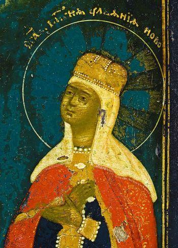 Святая благоверная княгиня-мученица Иулиания Вяземская