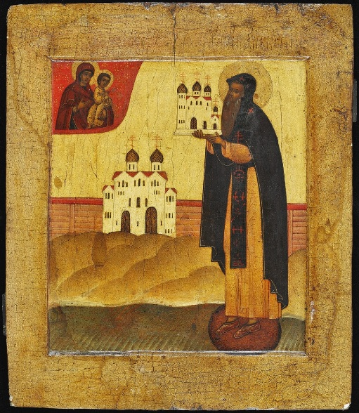 Преподобный Антоний Новгородский