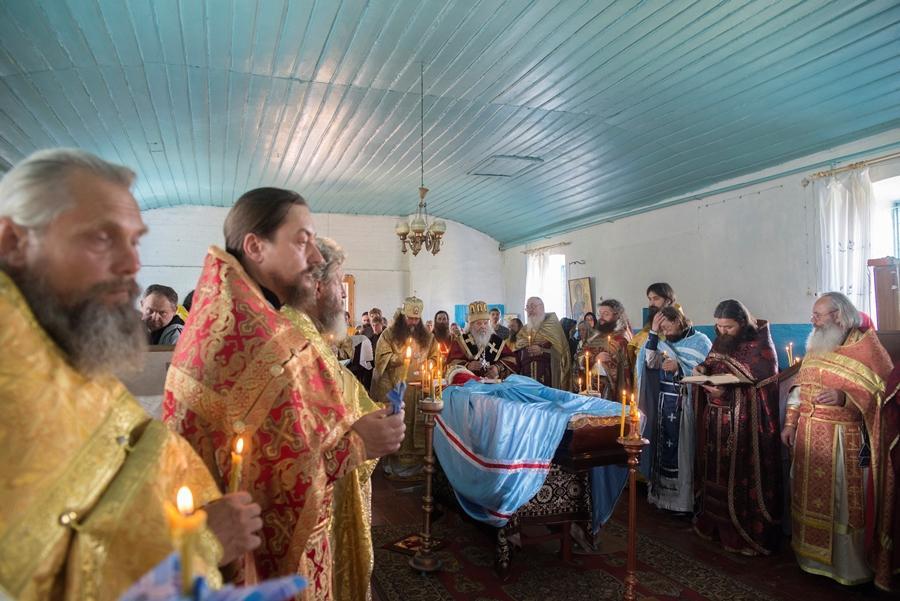 40-й день по упокоении архипастыря Киевской и всея Украины епархии РПсЦ архиепископа Саватия (Козка)