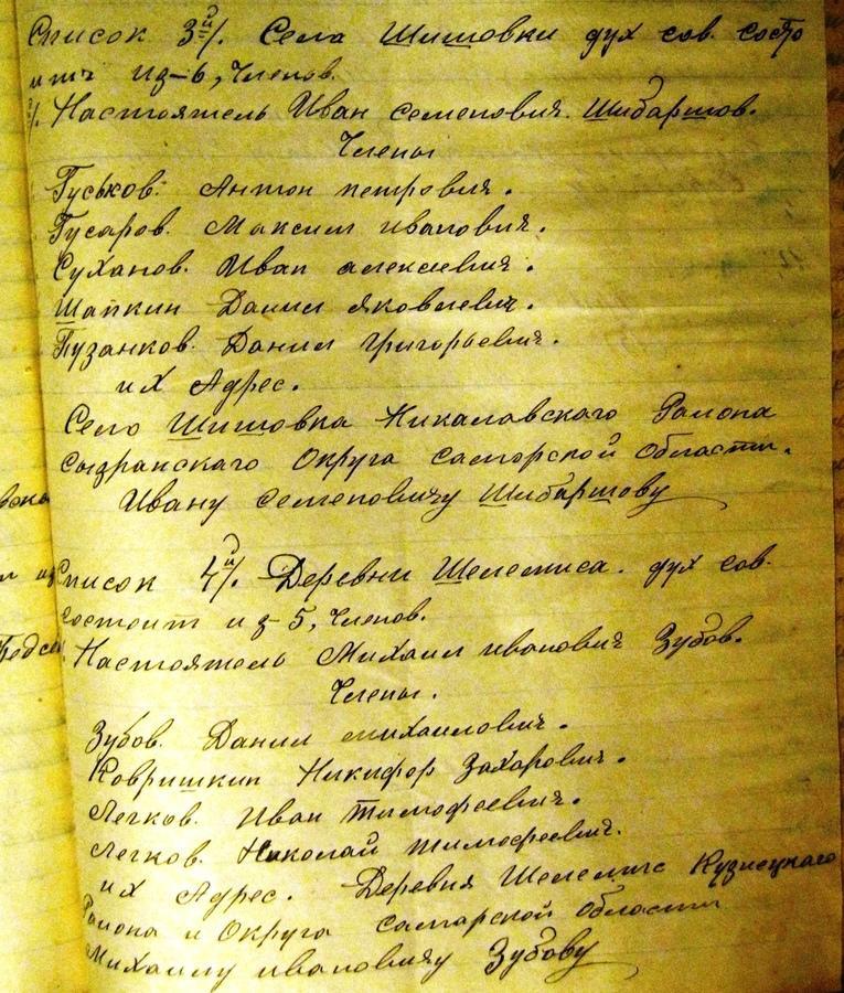 Деревня Шишовка— центр русского старообрядчества наКузнецкой земле