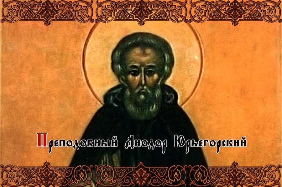Преподобный Диодор Юрьегорский
