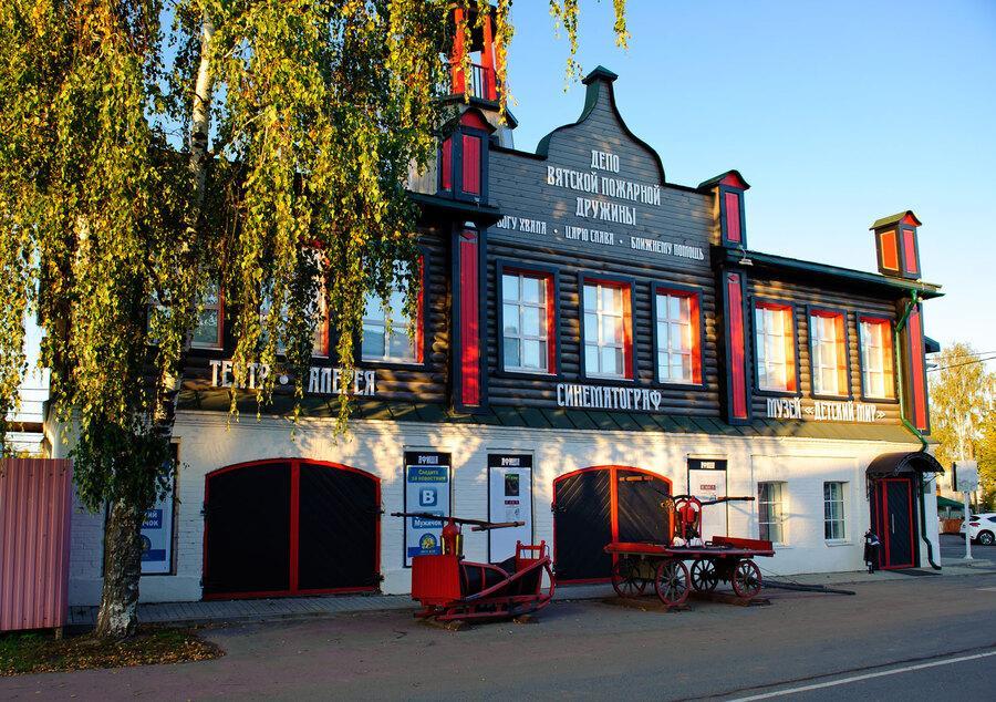 Историко-культурный комплекс в старинном селе Вятское