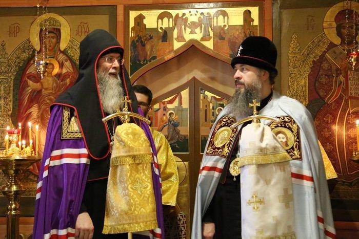 Митрополит Пензенский и Нижнеломовский Серафим (Домнин) совершил старообрядческую Литургию