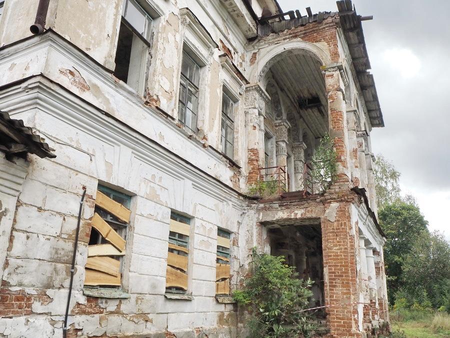 Забытая усадьба Денисово под Костромой