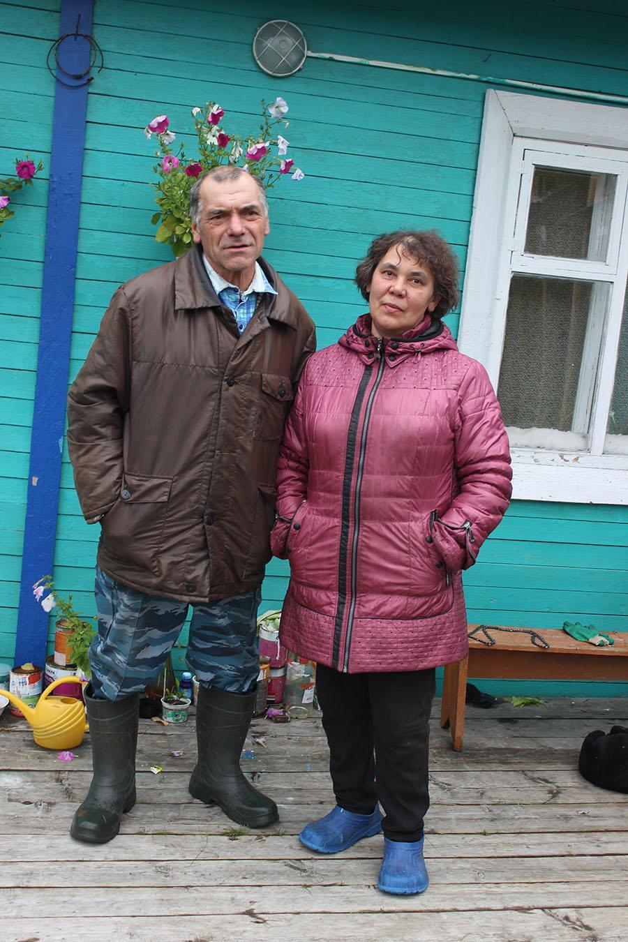 Василий и Валентина Денисовы