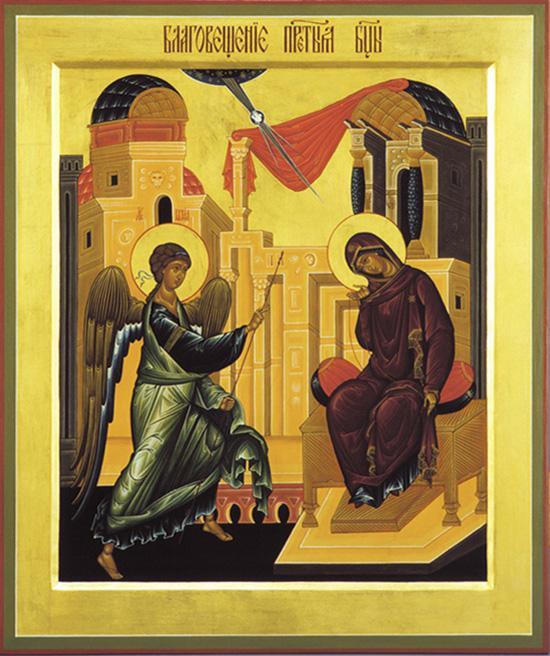 Старообрядцы всех согласий отмечают праздник Благовещения