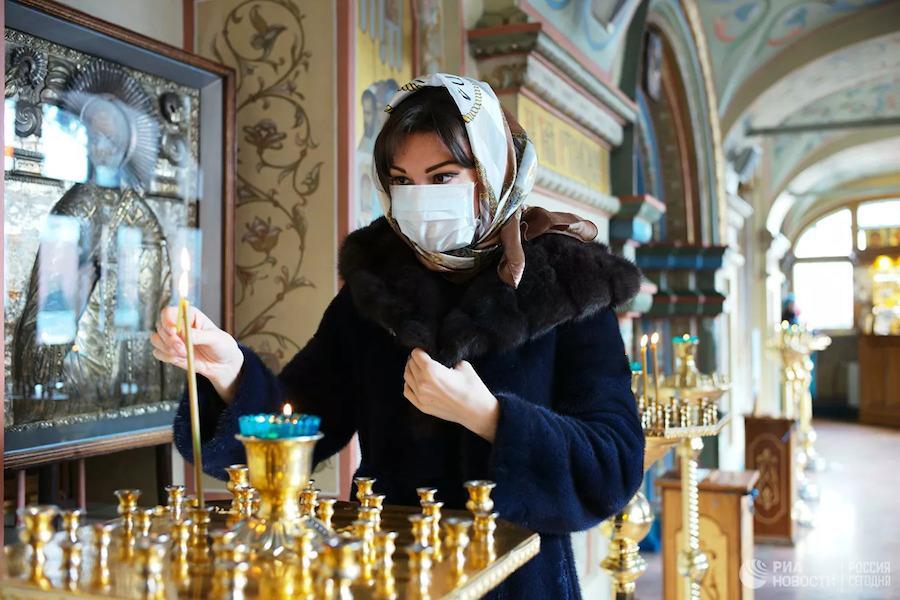 Эпидемия настигла клириков и мирян РПЦ, которые ранее не оценили опасности коронавируса
