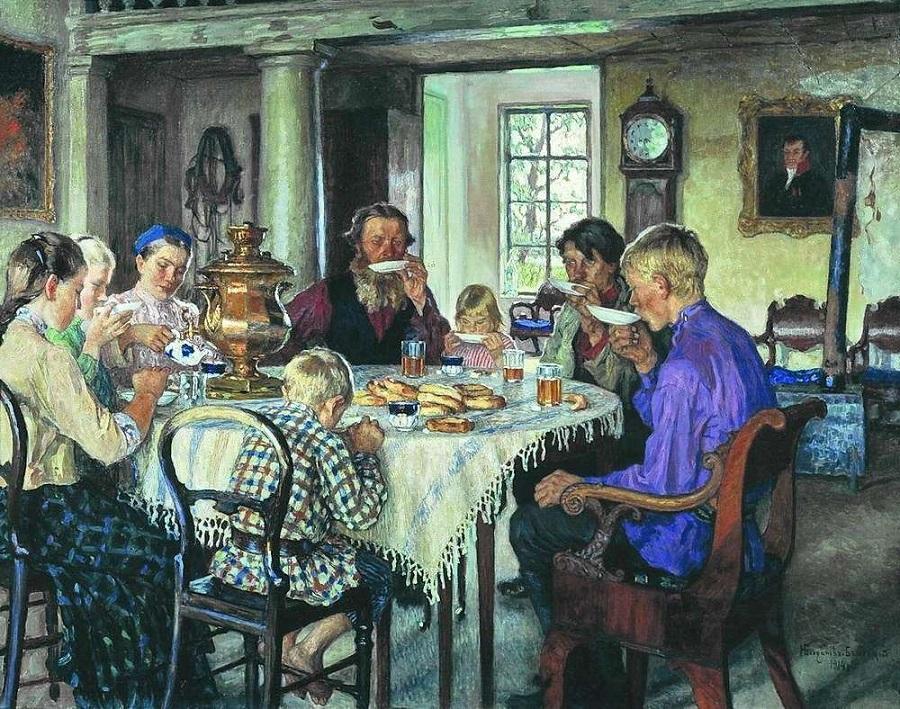 Образ домашней жизни наших предков