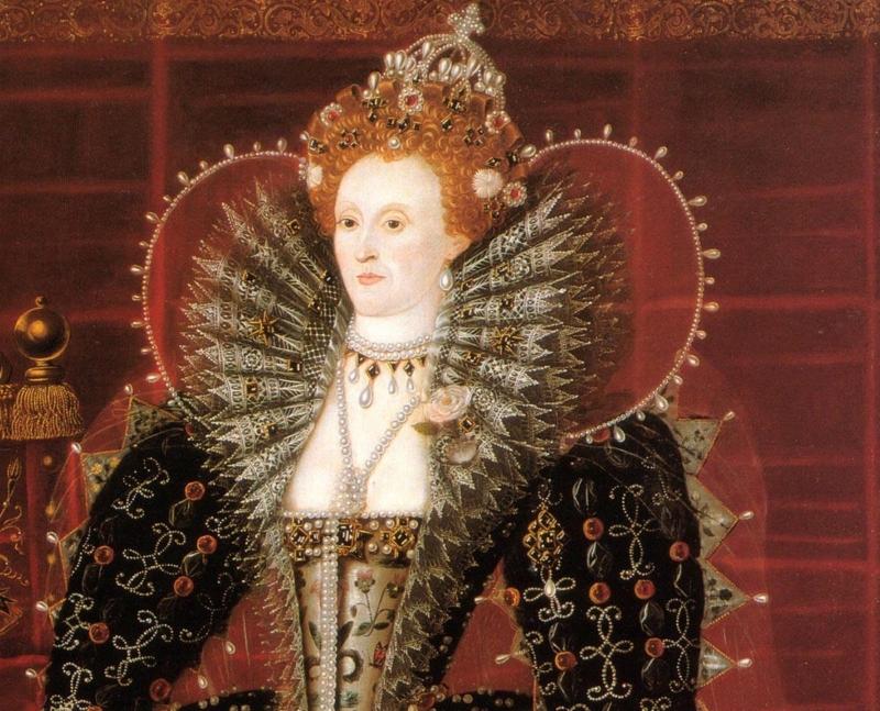 Королева Англии и Ирландии Елизавета Первая