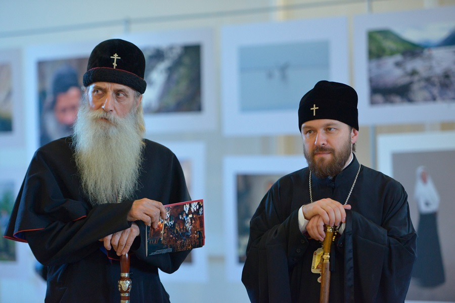 Митрополит Корнилий и митрополит Иларион