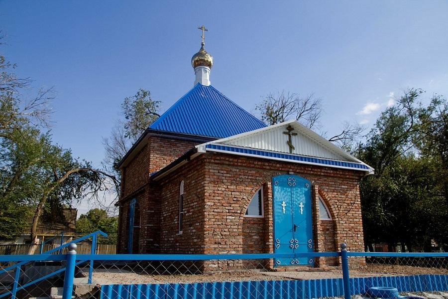 Храм во имя преподобного Паисия Великого. Успех