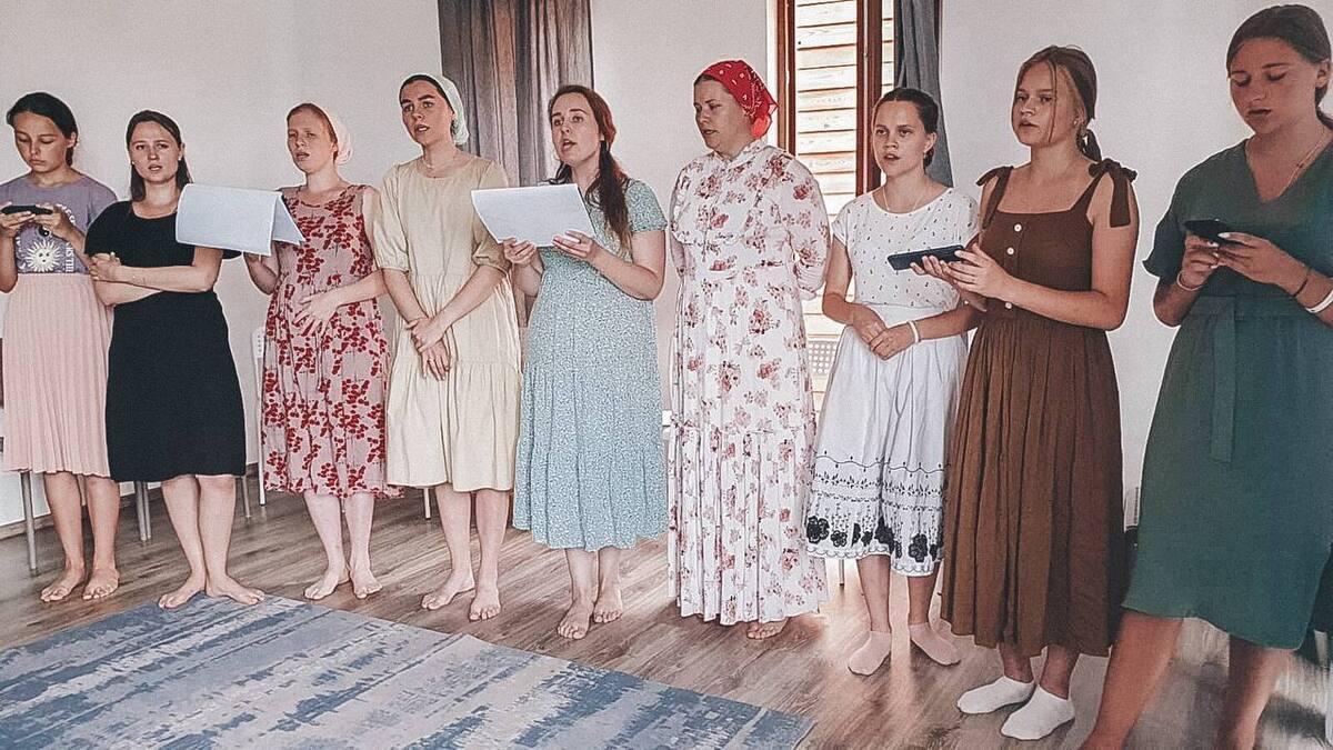 В крымском старообрядческом лагере прошел слет певчих