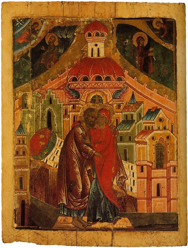 Святые Богоотцы Иоаким и Анна