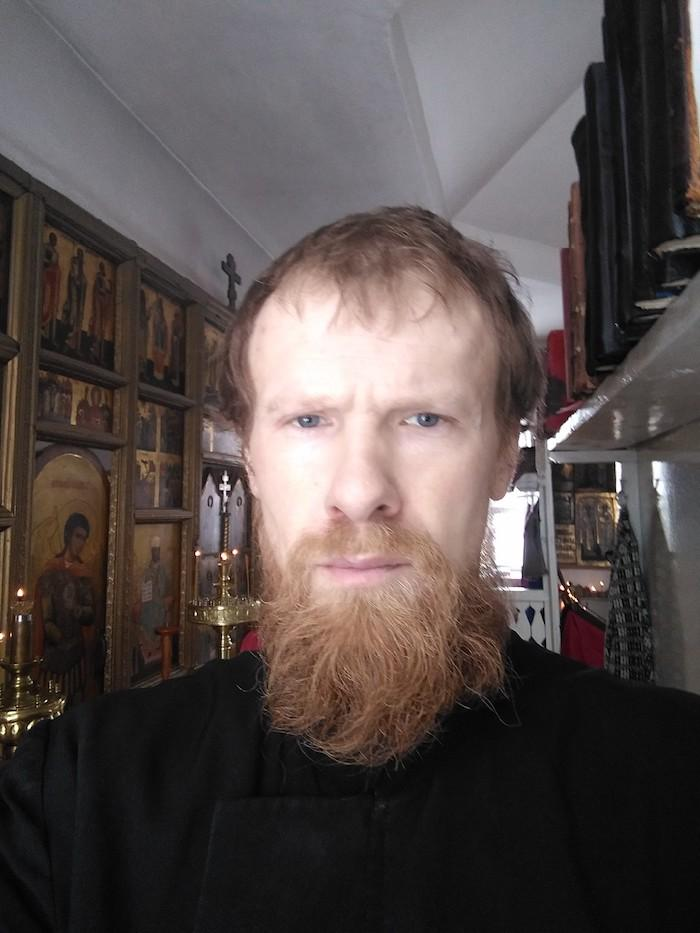 Иван Шабашов в храме