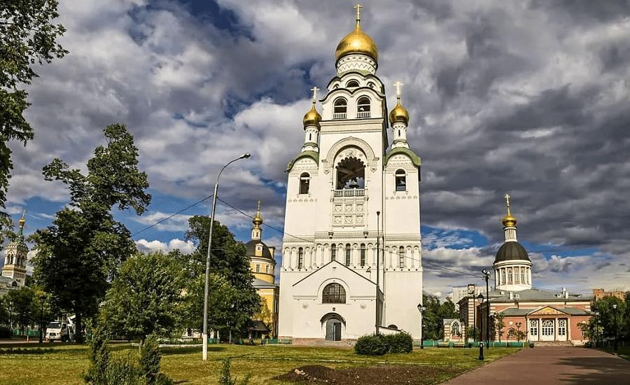 Храм-колокольня на Рогожском