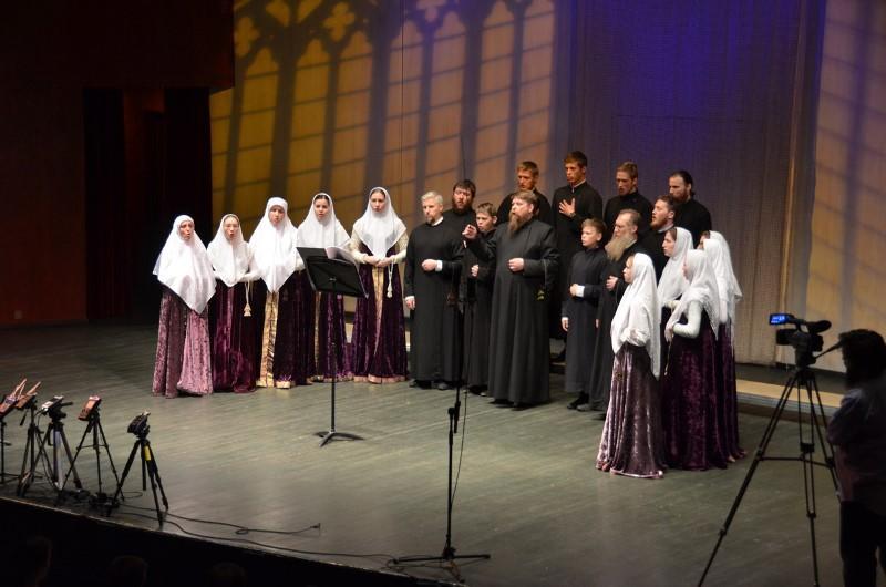 Фотоотчёт с концерта духовных старообрядческих песнопений