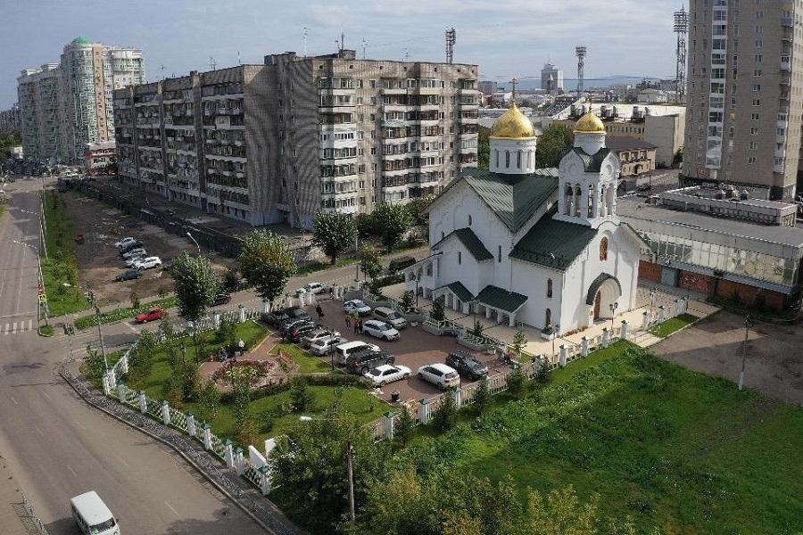 В центре Красноярска освящен старообрядческий храм