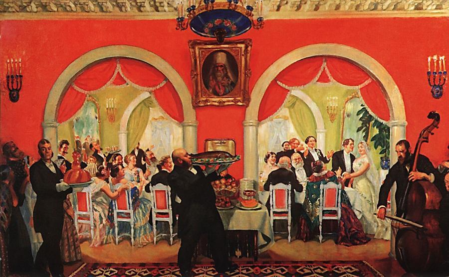 О женитьбах и свадьбах в старину на Руси
