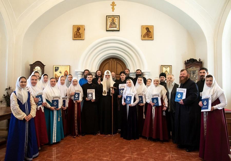 В Московском старообрядческом духовном училище подвели итоги учебного года