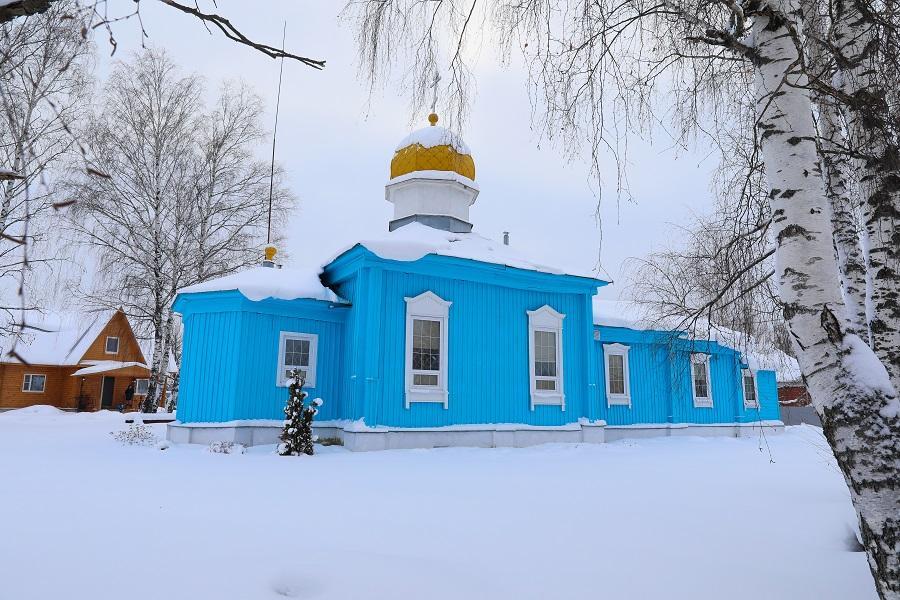 Старообрядческий храм в Шувое