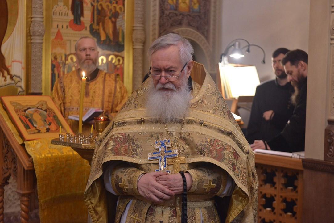 В Тихвинской епархии РПЦ почтили память первого единоверческого епископа Симона (Шлеева)