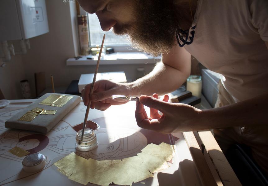 Семья иконописцев-староверов рассказывает о тонкостях своего труда