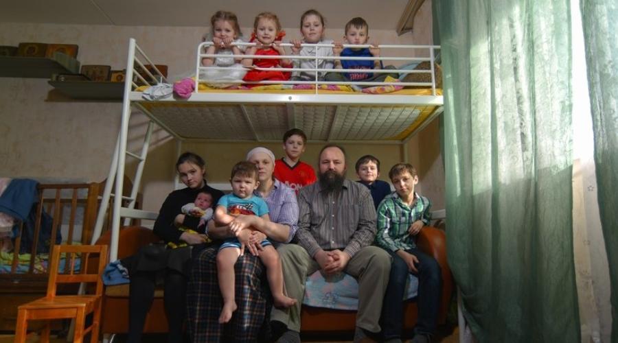 «Ой, это все ваши?»: как живет семья с 11 детьми из Зеленограда