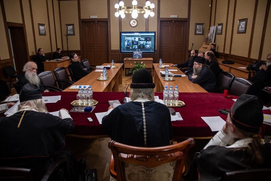 Совет Митрополии РПСЦ впервые в своей истории начал работу в режиме онлайн-совещания