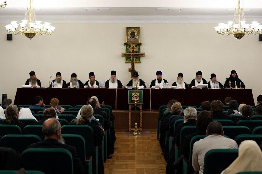 Постановления Освященного Собора РПсЦ (Москва, 22–23 октября 2019 г.)