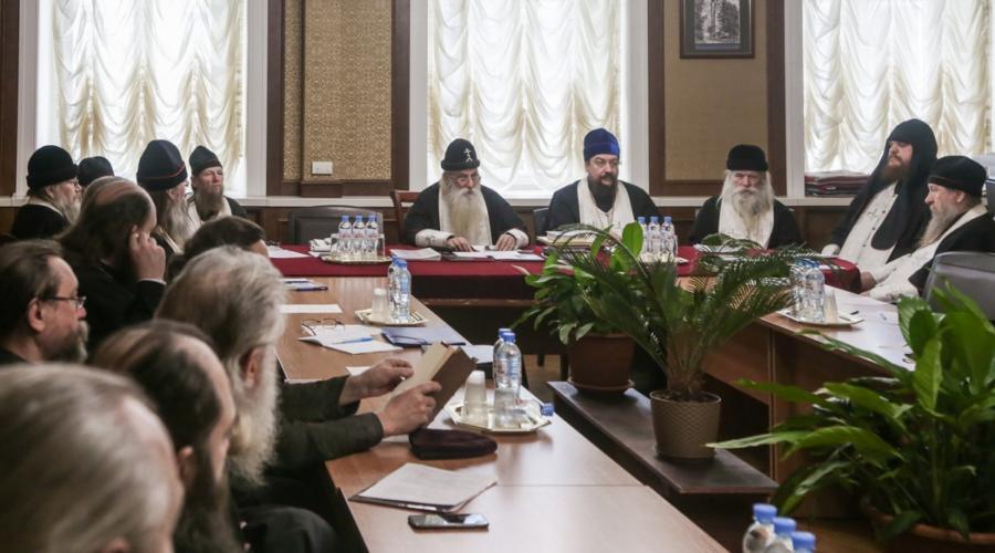 Постановления Совета Митрополии РПсЦ (Москва, 28–29 января 2020)