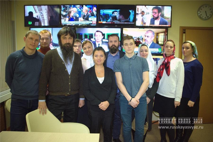 Старообрядцы на встрече с Маргаритой Симоньян