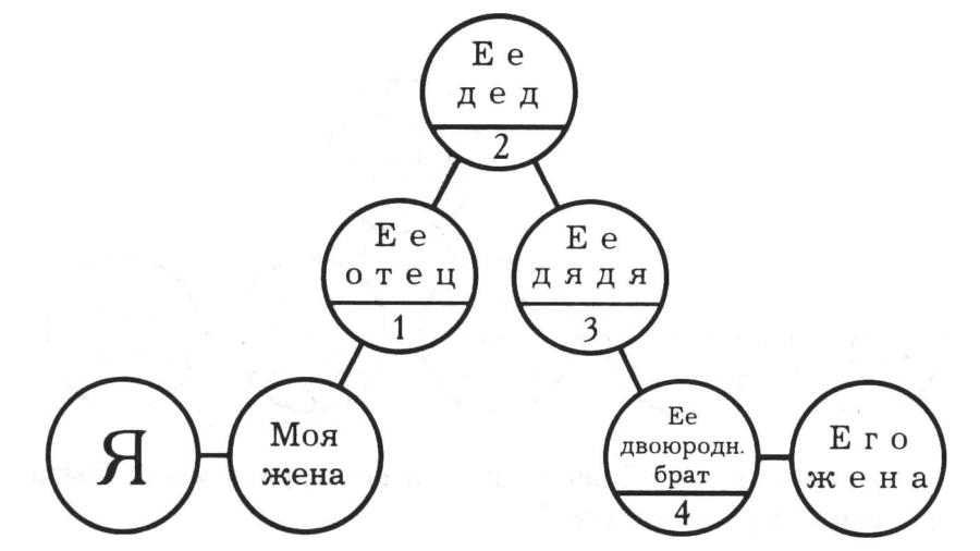 О допустимых степенях родства при вступлении в брак