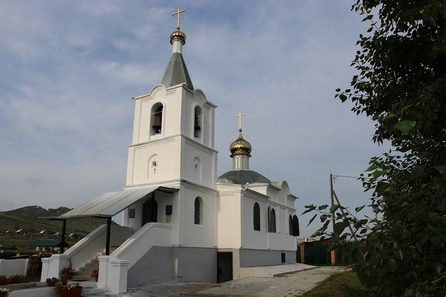 Храм Воздвижения Креста Господня. Тарбагатай