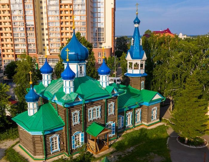 Храм Успения Пресвятой Богородицы. Томск
