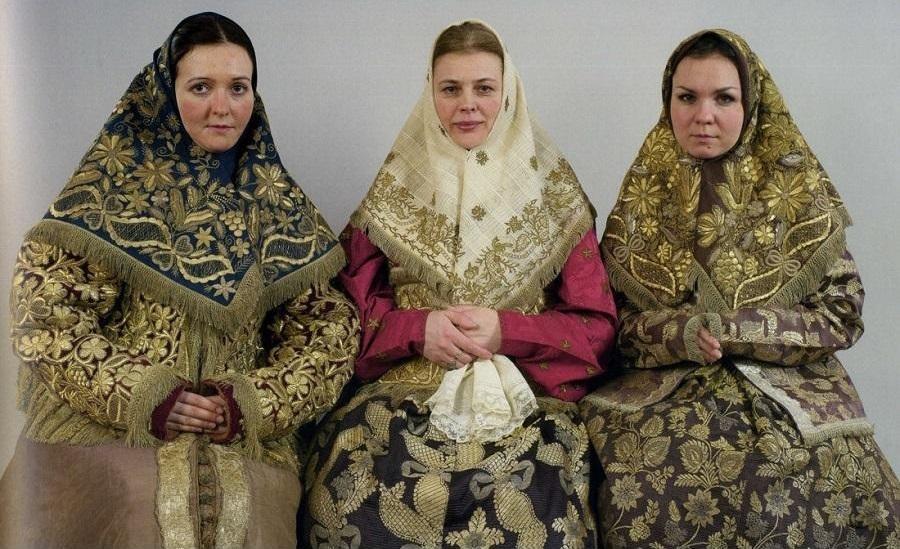 Традиционная народная одежда староверов