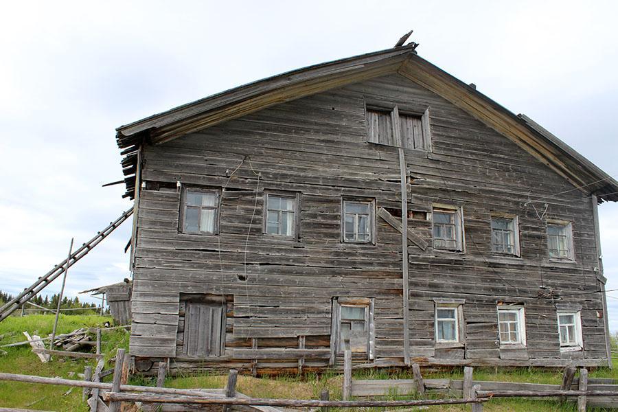 Бывший купеческий дом староверов Логиновых в Аранце
