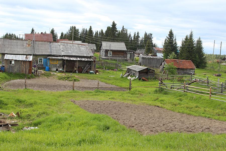 Деревня Аранец в наши дни