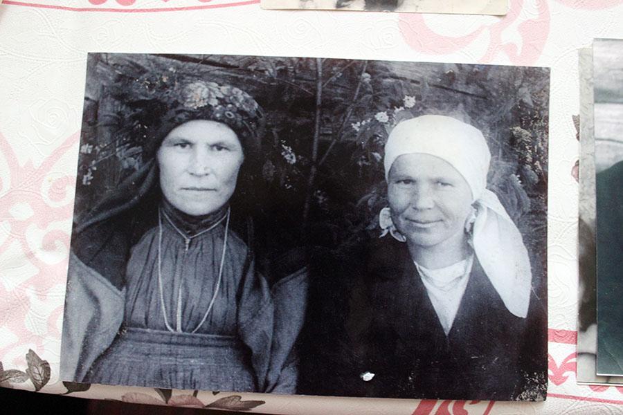 Староверы деревни Аранец - родственницы Марии Лобовой
