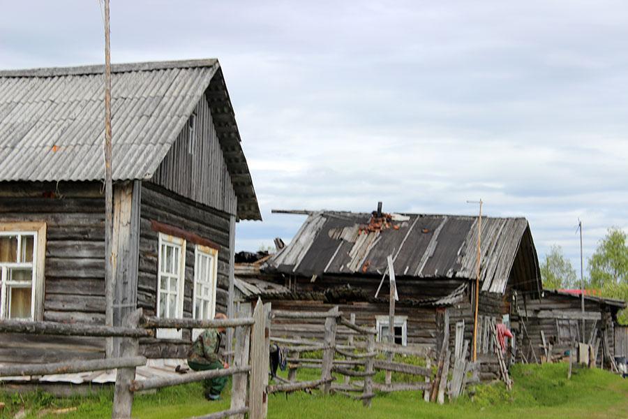 В деревне Аранец