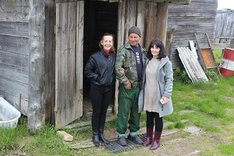 Вера Копытова, Лариса Иванова и Михаил Пыстин